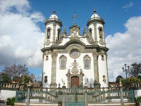 São João Del Rei, Minas, Church, Heritage, Brazil