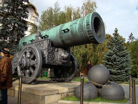Tsar Cannon, The Kremlin, Moscow, Russia, Kernel