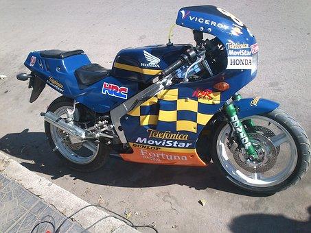 Honda, Moto, Motorcycle, Vehicle, Pistera, Nsr