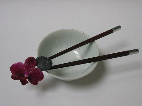 Orchid, Bowl, Zen