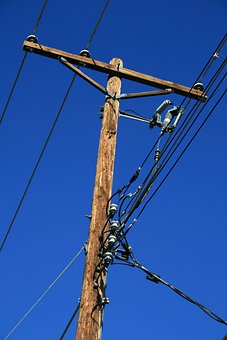 Power, Pole, Electricity, Utility, Cable, Wires