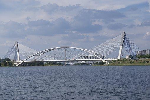Bridge, Putra, Jaya, Malaysia