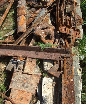 Rusty, Iron, Metal, Rust, Industrial, Garbage, Od, Junk