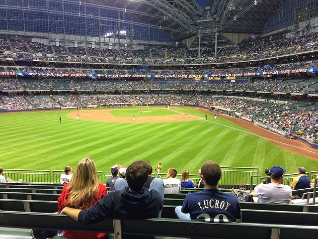 Baseball, Stadium, Stands, Fans, Field