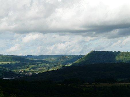 Swabian Alb, Alb Eaves, Measuring Elbe Erg, Mountain