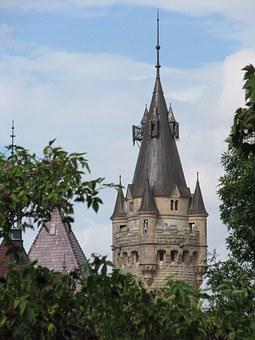 The Moszna Castle, Poland, Historic Castle, Residence