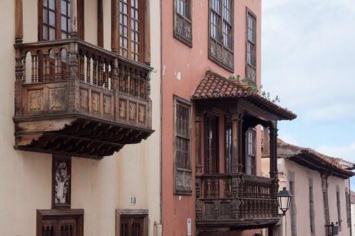 Townhouses, Elegant, Simply, Wooden Balconies, Typical