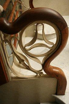 Gaudi, Architecture, Banister, Design, Artistic