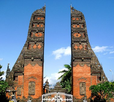 Gapura, Gilimanuk, Bali, Indonesia, Asian, Culture