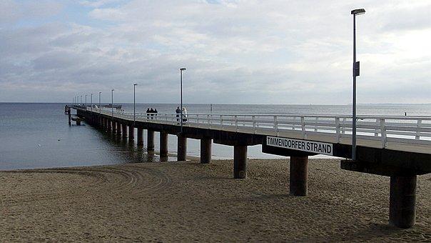 Timmendorfer, Beach, Baltic Sea, Timmendorf, Sea, Web