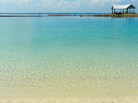 Beautiful, Clear Water, Blue, Beach, Costabella Resort