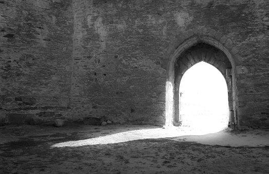 Light, Door, Castle, Stone, Doors, Input, Rocks