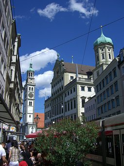 Perlachturm, Town Hall, Town Hall Tower, Augsburg