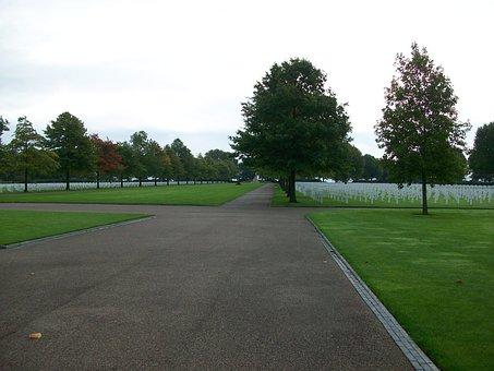 Cemetery, Cross, War, Walk, Religious, Death, Grave