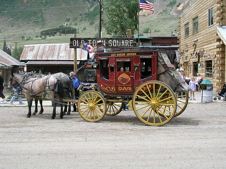 Silverton, Stage Couch, Stagecoach, Wild West