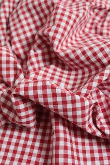 Cloth, Checkered, Fabric, Color, Square, Textile