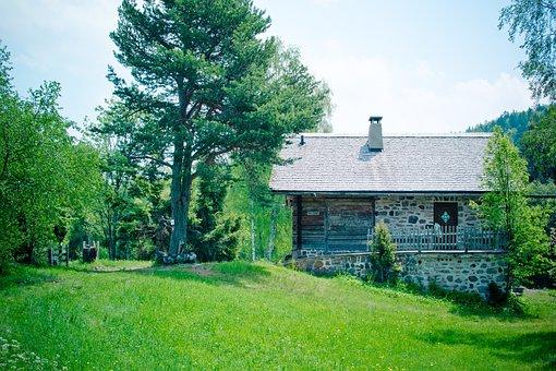 Pera Schupf, Scale, Almschuppen, Alpine Meadow, Alm