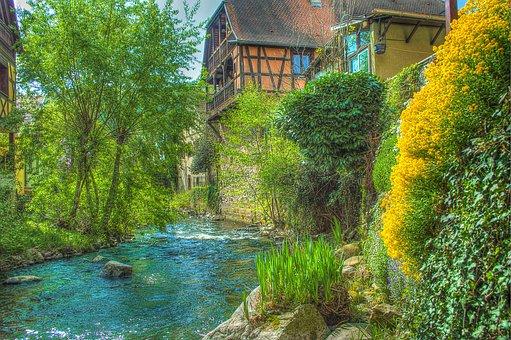 Kaysersberg, Alsace, France, Photo Filter, Filter, Hdr