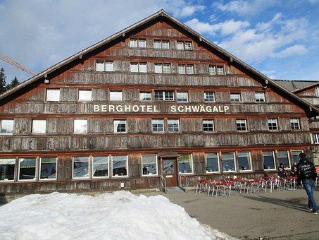 Architecture, Mountain Hotel, Tourism, Building