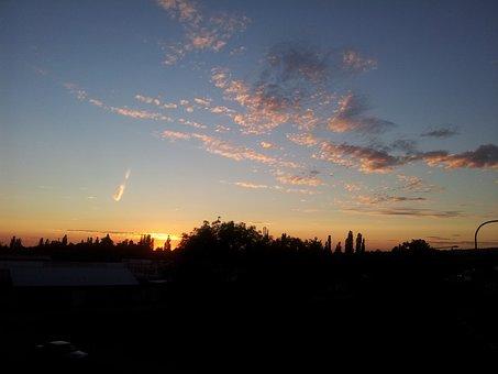 Evening Sky, Aschaffenburg, Germany