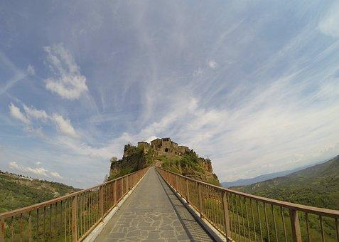 Civita Di Bagnoregio, Bridge, Borgo