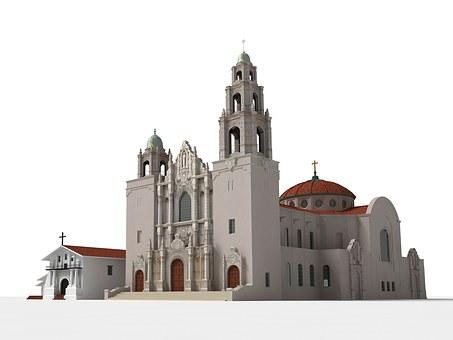 Mission, Dolores, San Francisco, Architecture, Building