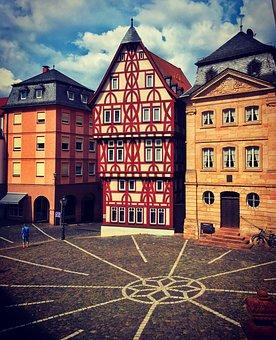 Germany, Aschaffenburg, City
