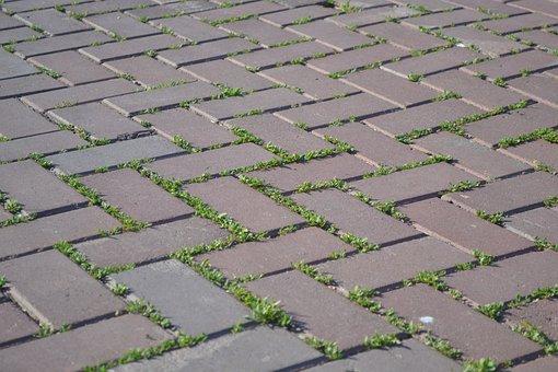 Tile, Pavement, Road, City