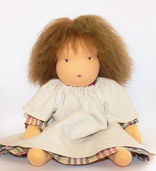 Doll, Waldorf Doll, Cloth Doll Members, Toys