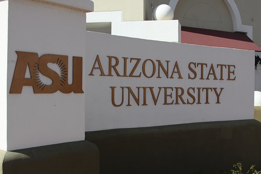 Arizona State University, Asu, Sign, College