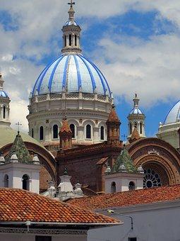 Ecuador, Cuenca, Cathedral, Dome