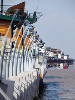 Ecuador, Guayaquil, Port, Architecture, Maritime