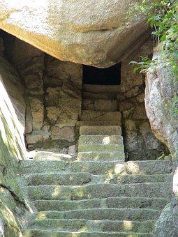 China, Fengcheng, Höhenweg, Phoenix Hill, Stairs
