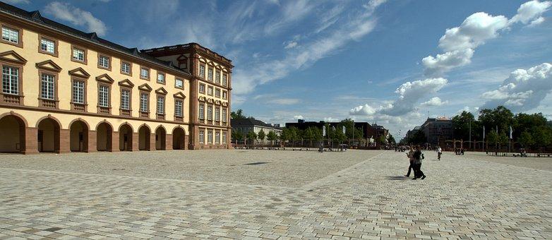 Castle, Hof, Kurfürstliches Closed, Mannheim