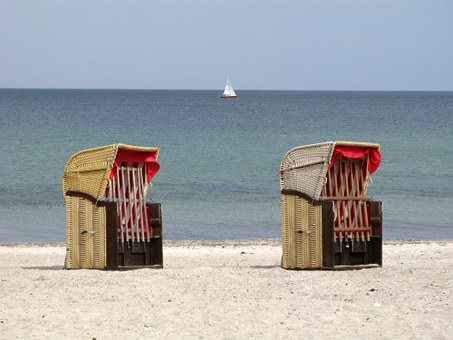 Clubs, Baltic Sea, Baltic Sea Beach, Sand, Sea, Holiday