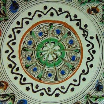 Horezu, Horezu Pattern, Handmade, Painted