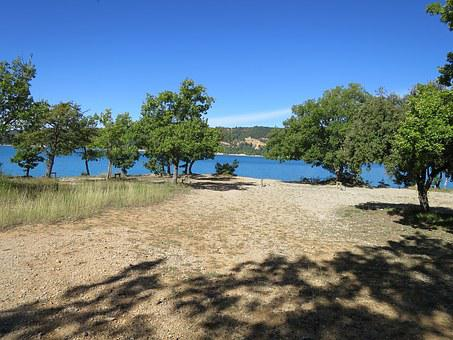 Summer, Lake Holy Cross, France, South