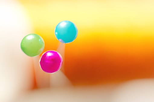 Pins, Colorful, Pin, Macro, Close Up, Bokeh