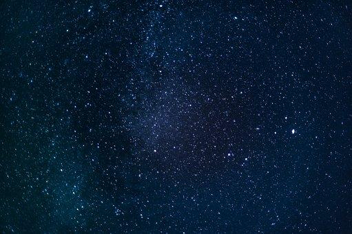 Milky Way, Space, Universe, Night Sky, Background