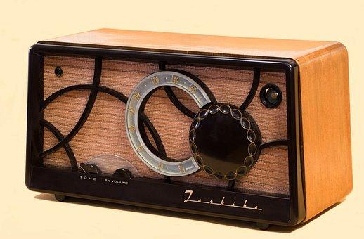 Tube Radio, Radio, Vacuum Tubes, Toshiba, Music, Old