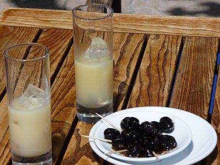 Olives, Pastis, Black Olives, Aperitif, Table