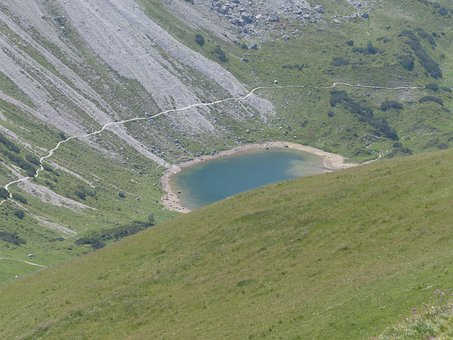 Pool, Lake, Little Lake, Bergsee, Alpine Lake, Hike