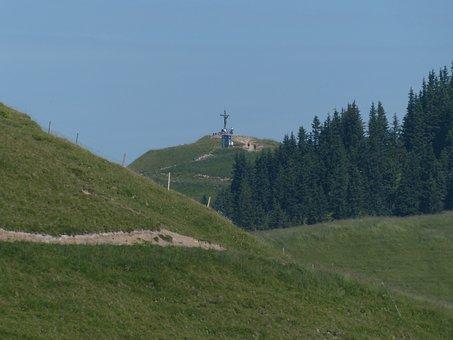 Saalfeld Höhenweg, Köpfle Neuner, Vilsalpseeberge