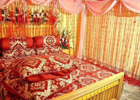 Bridal Suite, Bedroom, Sleeping Room, Bed, Suite, Hotel