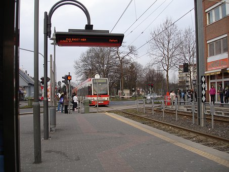 Tram, Stop, Waiting Time, Cologne