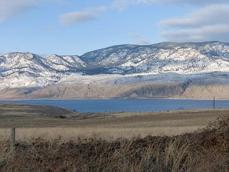 Kamloops Lake, British Columbia, Canada, Winter