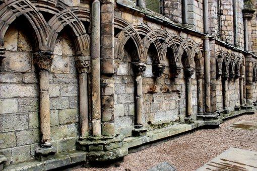 Abbey, Columns, Church, Architecture, Monastery
