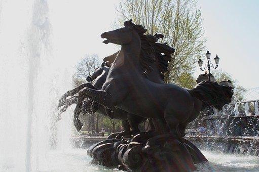 Fountain, Alexander Gardens, Moscow