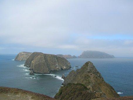 Anacapa, Islands, Nature, California, Ocean, Park