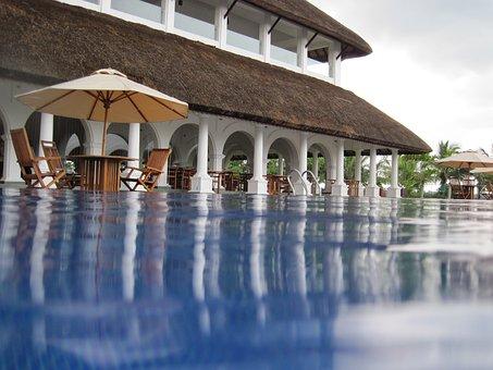 Hotel, Swimming Pool, Water, Beach Resort, Le Pondy